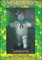 Ghostbusters 1 & 2 - (2 DVD with Figurine)