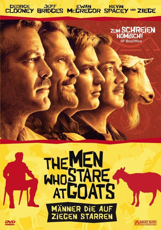 The men who stare at goats (2010)