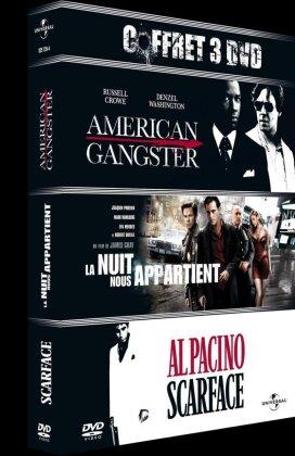 American Gangster / La nuit nous appartient / Scarface (3 DVDs)