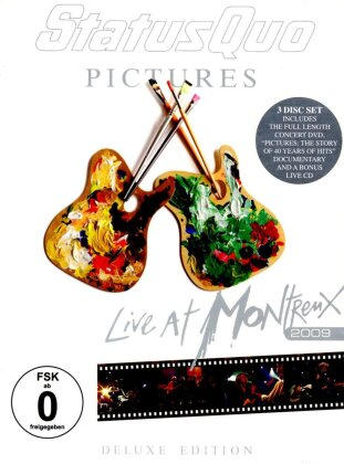 Status Quo - Live at Montreux 2009 - Pictures (2 DVDs + CD)
