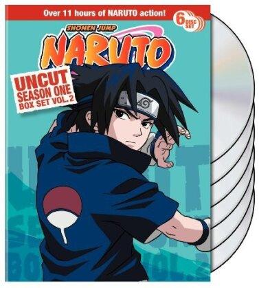 Naruto - Uncut Box Set Season 1, Vol. 2 (Uncut, 6 DVDs)