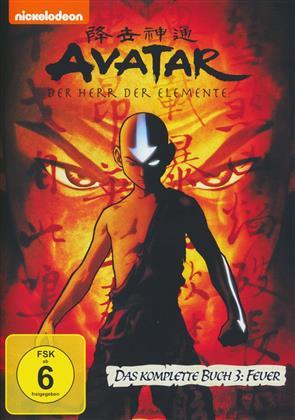 Avatar - Der Herr der Elemente - Das komplette Buch 3: Feuer (2007) (4 DVDs)
