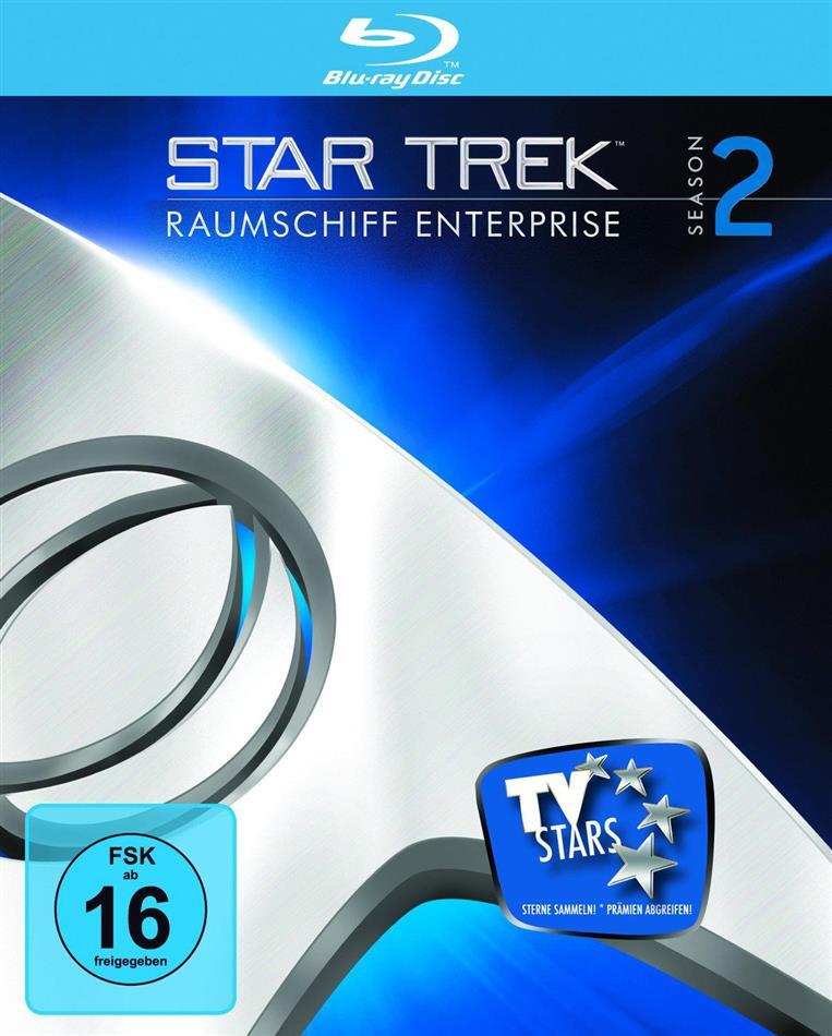 Star Trek - Raumschiff Enterprise - Staffel 2 (Remastered, 7 Blu-rays)