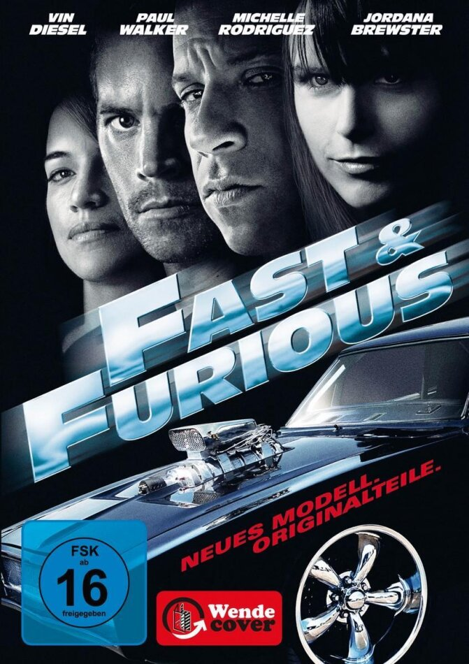Fast & Furious - Neues Modell. Originalteile. (Limitiertes Set) (2009)