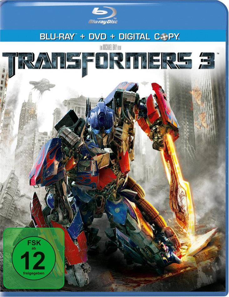 Transformers 3 - Dark of the Moon (2011) (Blu-ray + DVD)