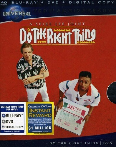 Do the Right Thing (1989) (Blu-ray + DVD)