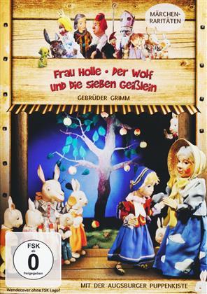 Augsburger Puppenkiste - Frau Holle / Der Wolf und die sieben Geisslein (s/w)