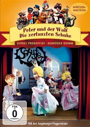 Augsburger Puppenkiste - Peter und der Wolf / Die zertanzten Schuhe (s/w)