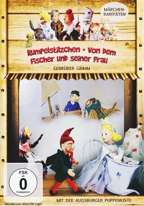 Augsburger Puppenkiste - Rumpelstilzchen / Von dem Fischer und seiner Frau (s/w)