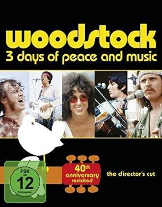 Various Artists - Woodstock (40th Anniversary Edition, 2 Blu-rays)
