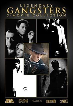 Legendary Gangster 5-Movie Collection (Gift Set, 5 DVDs)