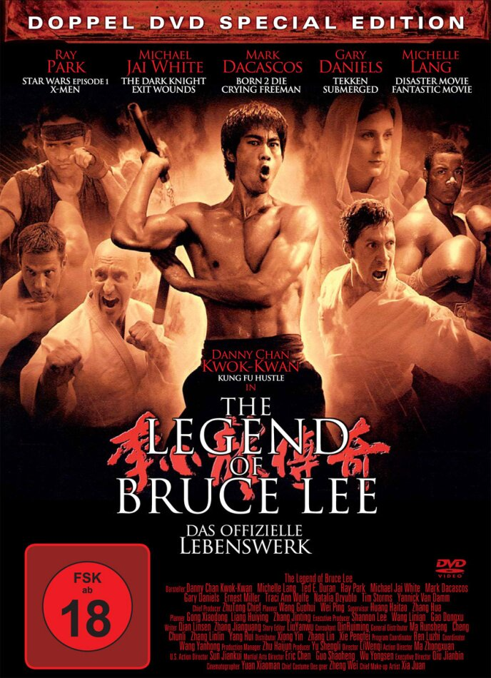 The Legend of Bruce Lee (2008) (Steelbook, Special Edition, 2 DVDs)