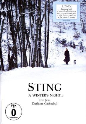 Sting - A Winter's Night... Live from Durham Cathedral (Deutsche Grammophon, 2 DVDs)