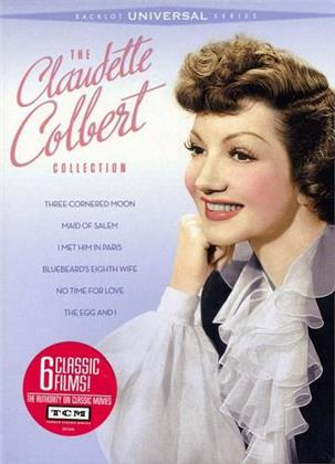 The Claudette Colbert Collection (Remastered, 3 DVDs)