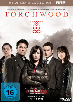 Torchwood - The Ultimate Collection Box (10 DVDs)