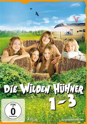 Die wilden Hühner - Teil 1-3 (3 DVDs)