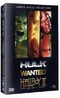 L'Incredibile Hulk / Wanted / Hellboy 2 - Comics Movie Collection (3 DVD)
