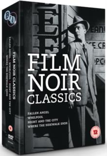 Film Noir Classics - Fallen Angel / Whirlpool / Night and the City / Where the sidewalk ends (4 DVDs)