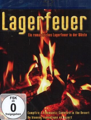 Lagerfeuer - Ein romantisches Lagerfeuer in der Wüste