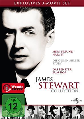 James Stewart Collection - Mein Freund Harvey / Die Glenn Miller Story / Das Fenster zum Hof (3 DVDs)