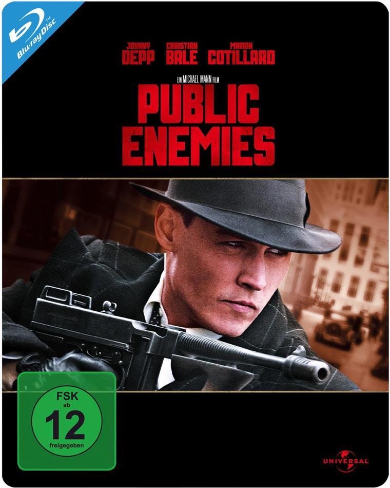 Public Enemies (2009) (Limited Edition, Steelbook)