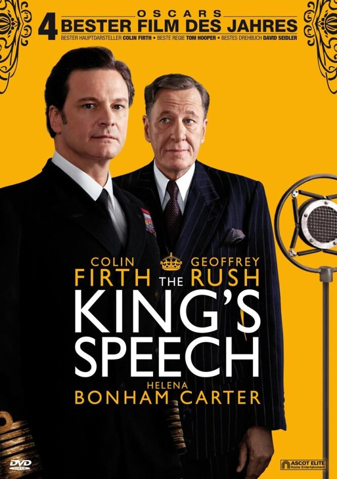 The King's Speech (2010) (2 DVDs)