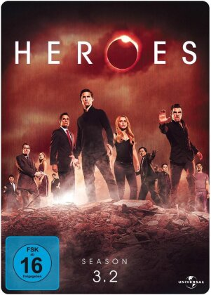 Heroes - Staffel 3.2 (Limited Edition, Steelbook, 3 DVDs)