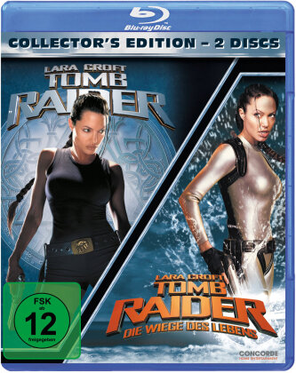 Lara Croft: Tomb Raider / Lara Croft: Tomb Raider - Die Wiege des Lebens (Collector's Edition, 2 Blu-ray)