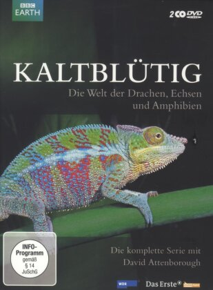 Kaltblütig - Die Welt der Drachen, Echsen und Amphibien (2 DVDs)