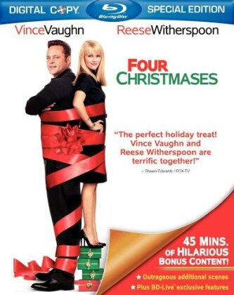 Four Christmases (2008) (Special Edition, Blu-ray + Digital Copy)