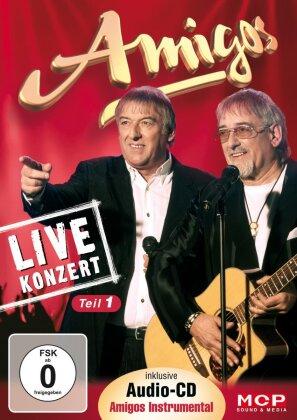 Amigos - Live Konzert (DVD + CD)