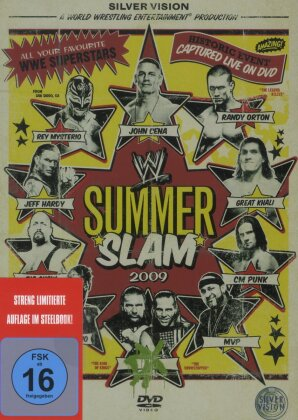 WWE: Summerslam 2009 (Steelbook)