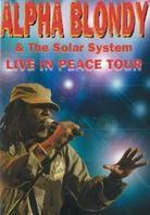 Blondy Alpha & The Solar System - Live in peace tour