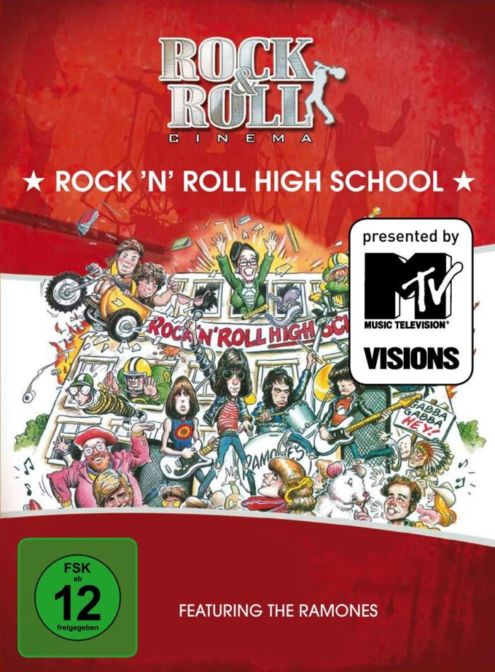 Rock 'n' Roll High School - (Rock & Roll Cinema 7) (1979)