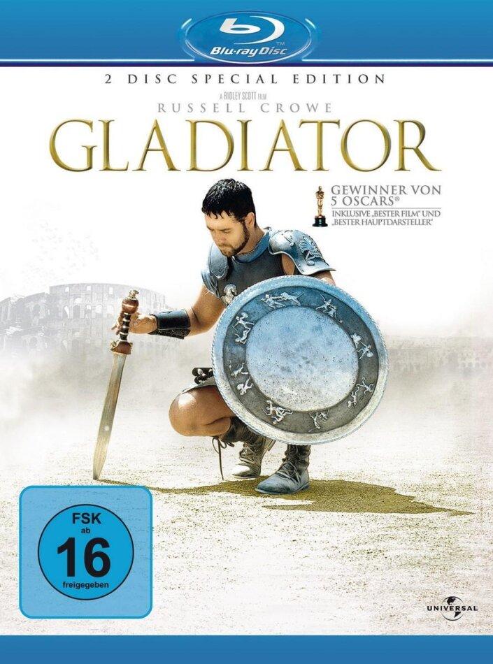 Gladiator (2000) (Special Edition, 2 Blu-rays)
