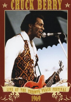 Berry Chuck - Live at the Toronto Peace Festival 1969
