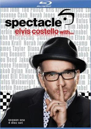 Elvis Costello: Spectacle - Season 1 (4 Blu-rays)