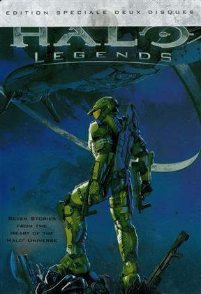 Halo Legends (2010) (Special Edition, Steelbook, 2 DVDs)