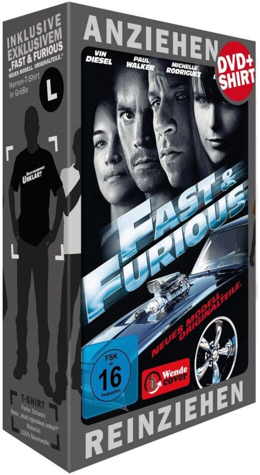 Fast & Furious - Neues Modell. Originalteile. (T-Shirt Edition) (2009)