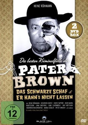 Die besten Kriminalfälle des Pater Brown (s/w, 2 DVDs)