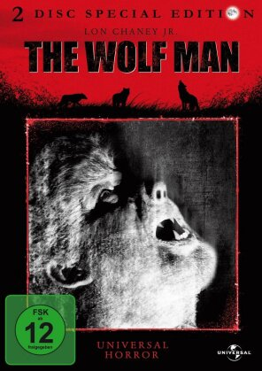 The wolf man (1941) (Monster Collection, s/w, Special Edition, 2 DVDs)