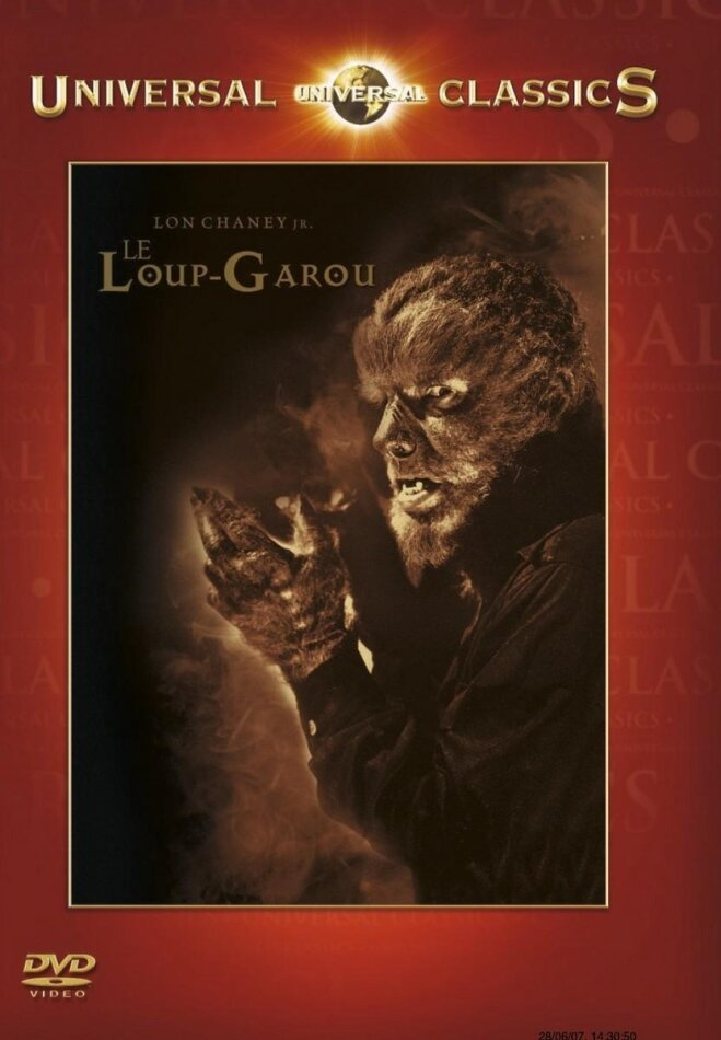The wolf man - Le Loup-Garou (1941) (Universal Classics, s/w)