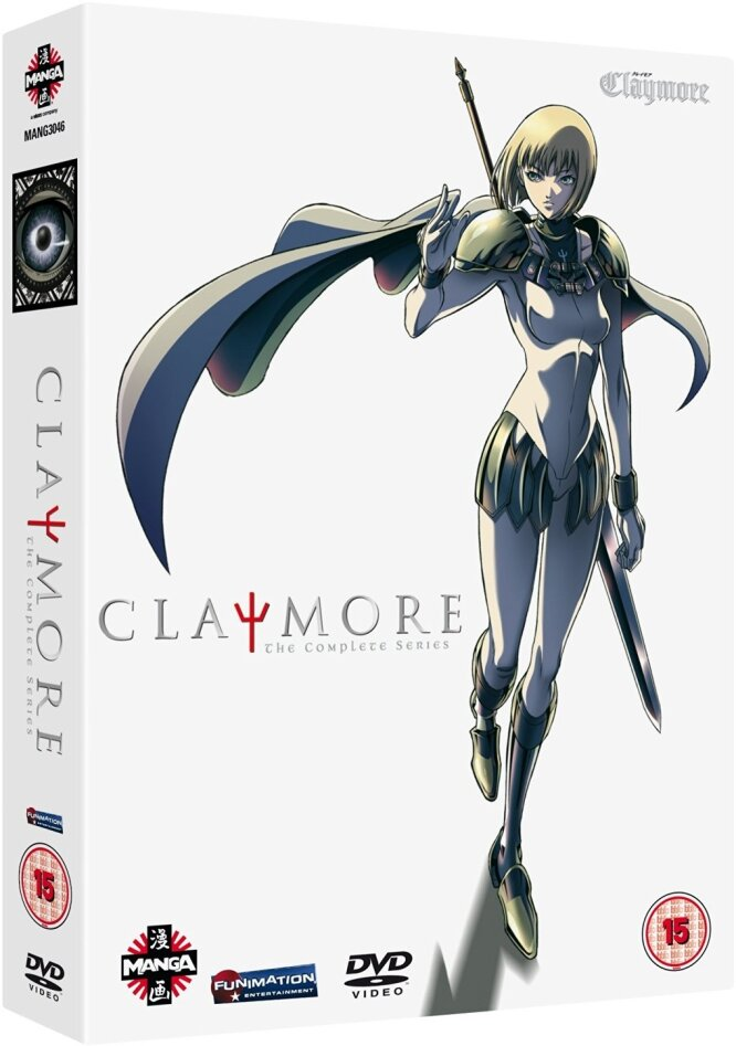 Claymore - The Complete Series (6 DVDs)