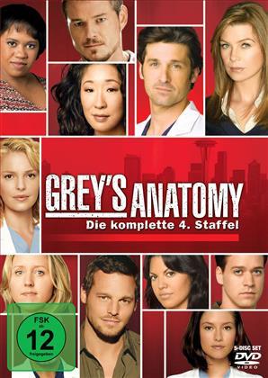 Grey's Anatomy - Staffel 4 (5 DVDs)