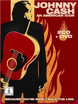 Johnny Cash - An American Icon (DVD + 2 CDs)