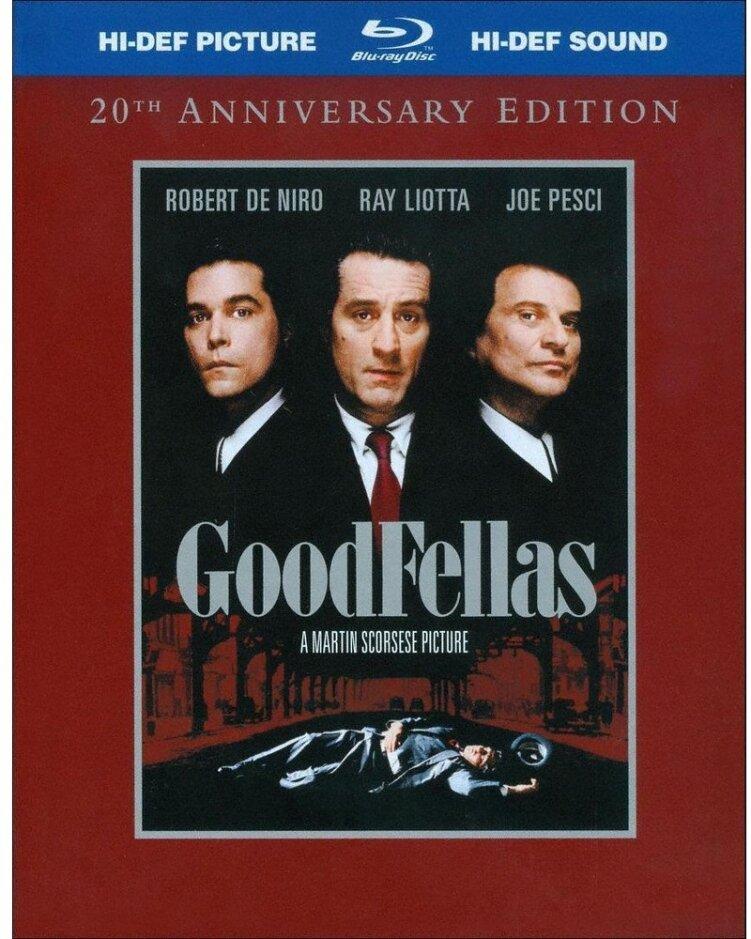 GoodFellas (1990) (Edizione Anniversario, 2 Blu-ray)
