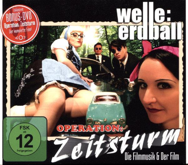 Welle: Erdball - Operation Zeitsturm (DVD + CD)