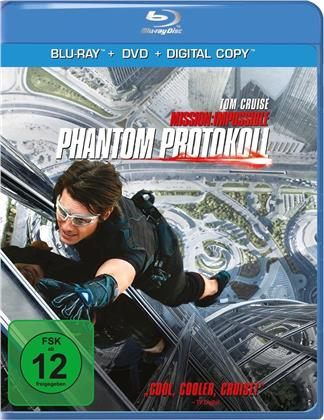 Mission: Impossible 4 - Phantom Protokoll (2011) (Blu-ray + DVD)