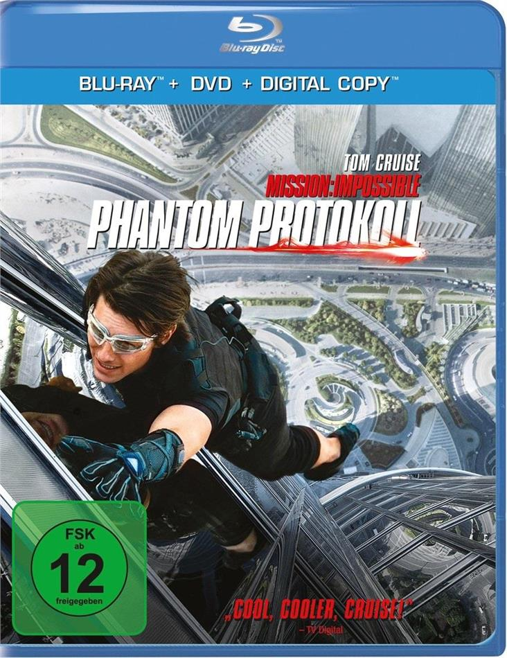 Mission: Impossible 4 - Phantom Protokoll (2011) (Blu-ray + DVD)