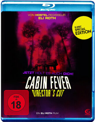 Cabin Fever (2002) (Director's Cut, 2 Blu-rays)